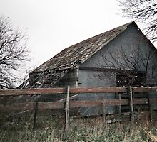 Nebraska corn crib by RichImage