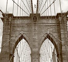 Brooklyn Bridge by Frank Romeo