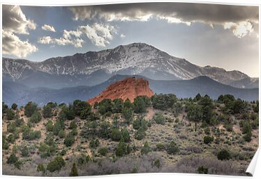 Pike&#x27;s Peak and Garden of the Gods by antonalbert1