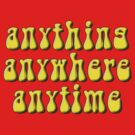 Goodies: anything, anywhere, anytime by Brian Edwards