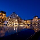 Night Louvre by ChrisSinn
