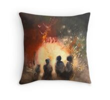 the way it was  * special order prints: tokikoandersonart@gmail.com Throw Pillow