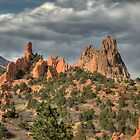 Majesty of the Garden  of the Gods  by antonalbert1