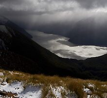 Te Anau South Fjord by Rob Dickinson