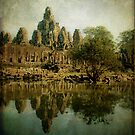 Bayon Temple, Cambodia by David Henderson