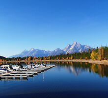The Grand Tetons - Wyoming USA by BennyT