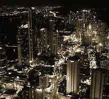 The Lights of Surfer's Paradise from Q1 by Stephen Horton