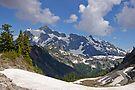 mt shuksan behind the ridge by dedmanshootn