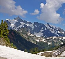 mt shuksan behind the ridge by dedmanshootn