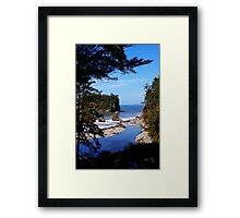 spectacular ruby beach, wa, usa Framed Print