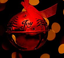 Red Christmas Ornament by soniarene