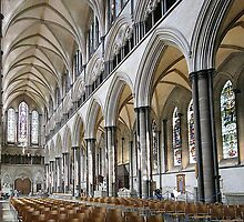 Salisbury Cathedral Nave by John Dalkin