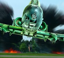 A-10 - Tankbuster !!! by Colin J Williams Photography