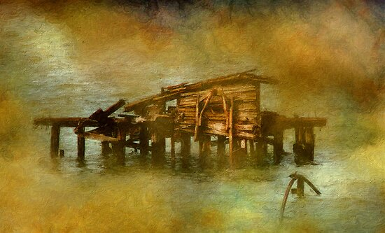 dying pier by rogeriogranato