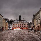 Town Hall &amp; Town Square - Tartu, Estonia by NeilAlderney