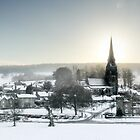 An Edensor Winter by Steven  Lee