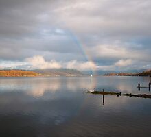 Windermere Rainbow by bubblebat