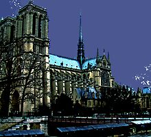 The Mystery Of Notre Dame by Al Bourassa