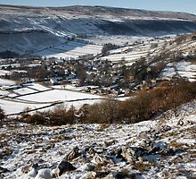 Winter In Kettlewell by SteveMG