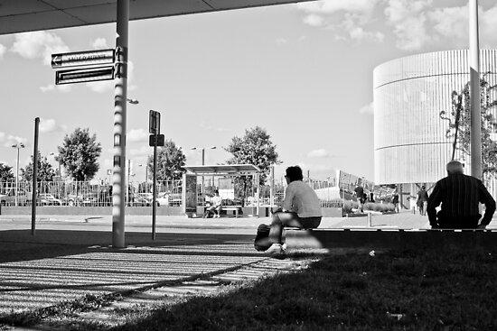 The waiting zone by Nayko