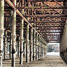 Under South Pier . by Lilian Marshall
