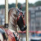 Painted Horse - Honfleur by Jocelyn Pride