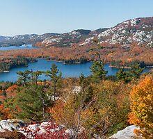 Killarney Provincial Park Spectacular Fall Foliage Panorama by jasonpomerantz