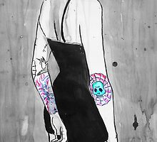 illustrated girl by Loui  Jover