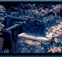Abandoned Mine Equipment by OneRudeDawg