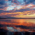 The Reflecting Pond - Evening Sunset over Florida by Rick Short