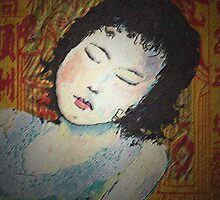 Sleeping girl by Mary Taylor