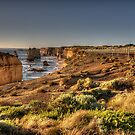 Walkway to Grandeur - Great Ocean Road , Victoria Australia - The HDR Experience by Philip Johnson