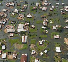 Homes in swamp around Bushrod Island, Monrovia, Liberia by Christopher Herwig