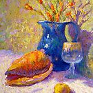 Still life with a shell by Julia Lesnichy