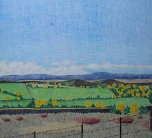 North Fork Valley Autumn by Susan Genge