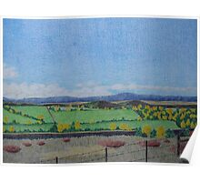 North Fork Valley Autumn Poster