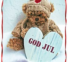 God Jul Teddy by Paola Svensson