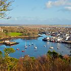 Stornoway harbour, Isle of Lewis by 58NorthPhoto