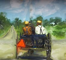Amish Boys by Dennis Granzow