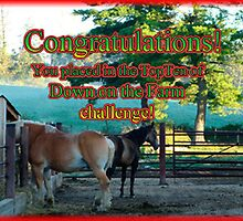 down on the farm challenge banner by vigor