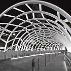 Webb Bridge - White bridge series by Gavin Poh