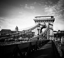 Széchenyi Chain Bridge, Budapest by Quentin Berryman