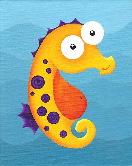 Sea Smiles - Part1 - Sea Horse by Fizzism