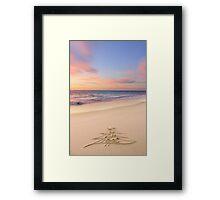 The Heaven Sent Christmas Framed Print