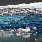 Blue Ice in Tracy Arm Fjord - Closest by Goudy