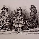 Queen Alice - Orf wid der heads! by John Dicandia  ( JinnDoW )