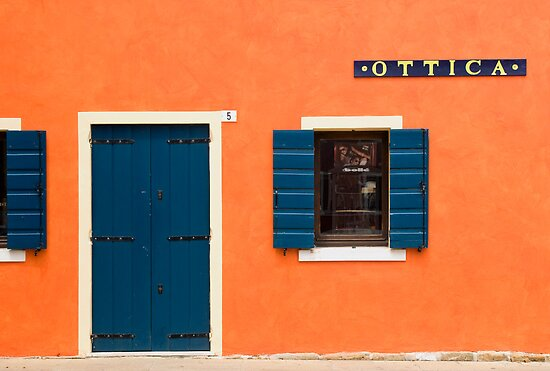 Colourful House Facade, Caorle, Italy by Petr Svarc