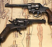 Old Revolvers by opticalreflex