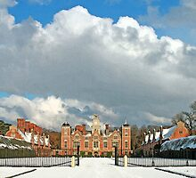 Winter at Blickling Hall by Beverley Barrett