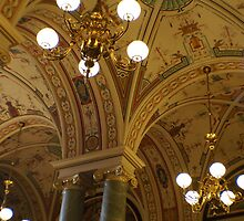 Semperopera interior, Dresden, Saxony by BronReid